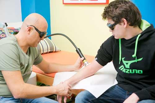 laserterapia: come si svolge?