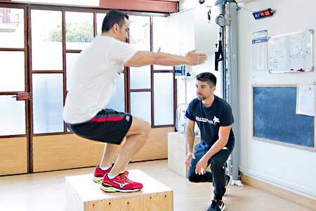 Personal training a domicilio